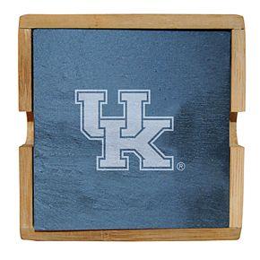 Kentucky Wildcats Slate Coaster Set