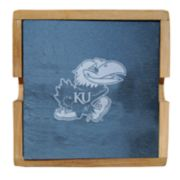 Kansas Jayhawks Slate Coaster Set