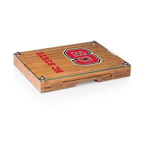 North Carolina State Wolfpack Concerto Glass-Top Cutting Board Set