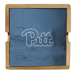 Pitt Panthers Slate Coaster Set