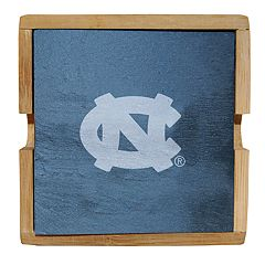 North Carolina Tar Heels Slate Coaster Set