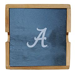 Alabama Crimson Tide Slate Coaster Set