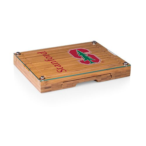 Stanford Cardinal Concerto Glass-Top Cutting Board Set