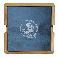 Florida State Seminoles Slate Coaster Set