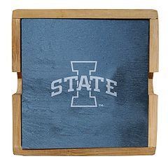 Iowa State Cyclones Slate Coaster Set