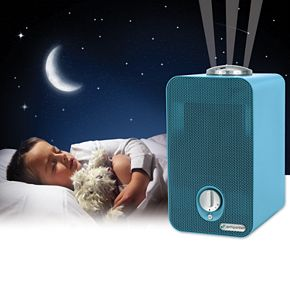 GermGuardian AC4150BLCA Air Purifier with True HEPA Filter and UV-C for Kid's Rooms, Night Light Projector