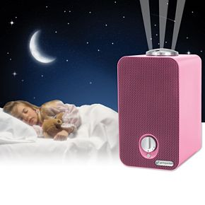 GermGuardian 4-in-1 Kid's Room Air Purifier with HEPA Filter, UVC Sanitizer & Night Light Projector