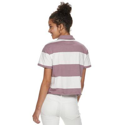 Juniors' SO® Striped Polo