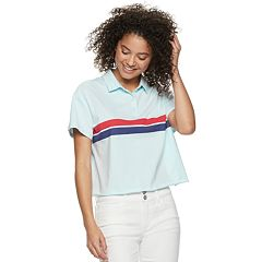 Juniors' SO® Striped Polo