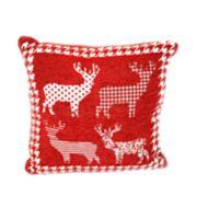 Popular Home Santa Reindeers Pillow