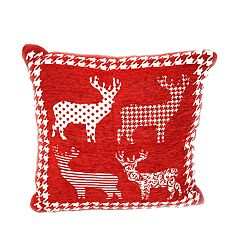 Popular Home Santa Reindeers Pillow