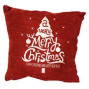Popular Home Santa Flakes Pillow