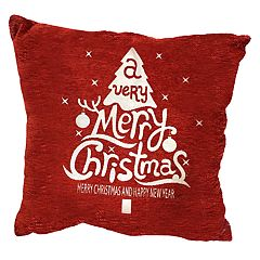 Popular Home Santa Flakes Pillow