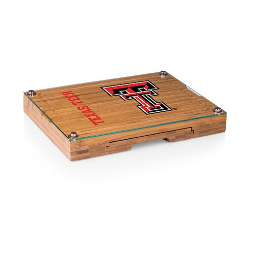 Texas Tech Red Raiders Concerto Glass-Top Cutting Board Set