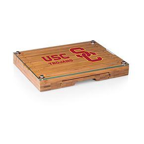 USC Trojans Concerto Glass-Top Cutting Board Set