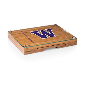 Washington Huskies Concerto Glass-Top Cutting Board Set
