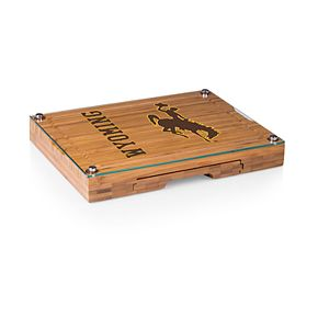 Wyoming Cowboys Concerto Glass-Top Cutting Board Set