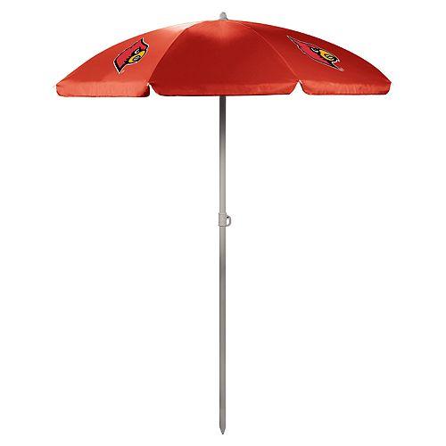 Picnic Time Louisville Cardinals Portable Beach Umbrella