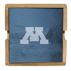 Minnesota Golden Gophers Slate Coaster Set
