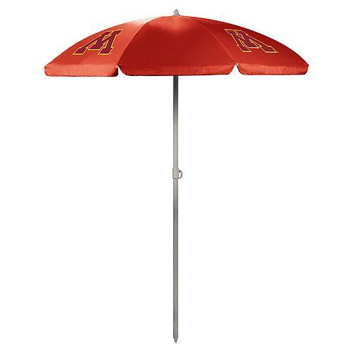 Picnic Time Minnesota Golden Gophers Portable Beach Umbrella