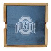 Ohio State Buckeyes Slate Coaster Set