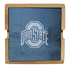 Ohio State Buckeyes Slate Coaster Set