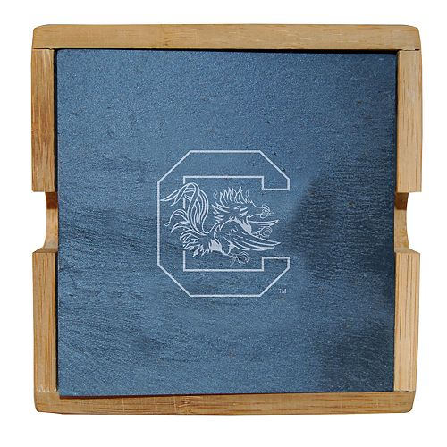 South Carolina Gamecocks Slate Coaster Set