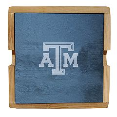 Texas A&M Aggies Slate Coaster Set