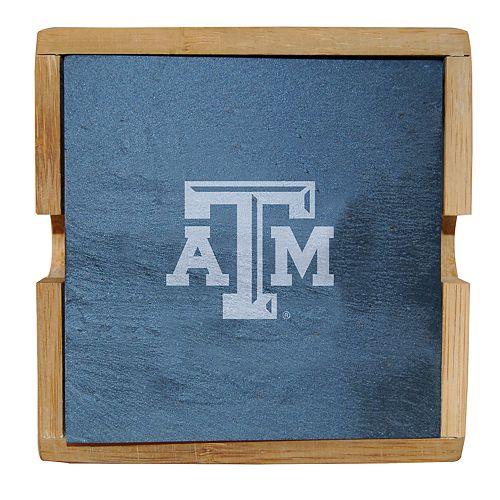 Texas A&M Aggies Slate Coaster Set