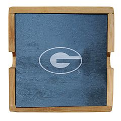 Georgia Bulldogs Slate Coaster Set