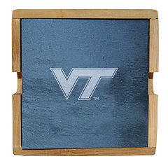 Virginia Tech Hokies Slate Coaster Set
