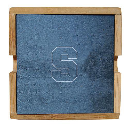 Syracuse Orange Slate Coaster Set