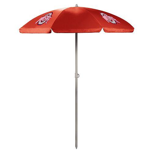 Picnic Time Ohio State Buckeyes Portable Beach Umbrella