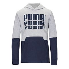 Boys 4-7 PUMA Colorblock Rebel Pullover Hoodie