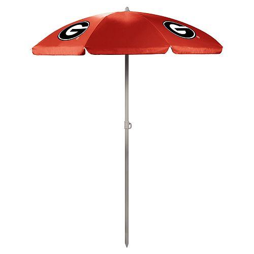 Picnic Time Georgia Bulldogs Portable Beach Umbrella