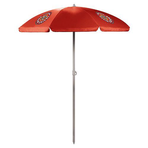 Picnic Time Lafayette Leopards Portable Beach Umbrella