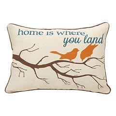 Spencer Home Home Where You Land Throw Pillow