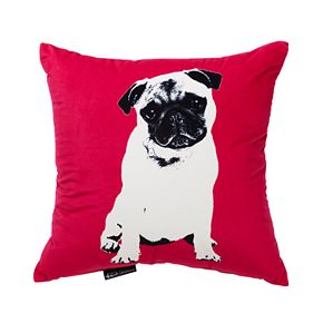 Spencer Home Pugg Life Throw Pillow