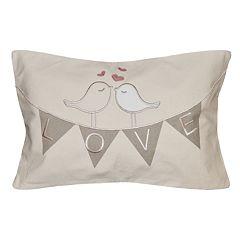 Spencer Home Love Banner Throw Pillow