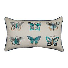 Spencer Home Monarch Faux Throw Pillow