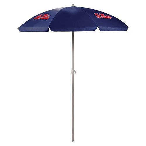Picnic Time Ole Miss Rebels Portable Beach Umbrella