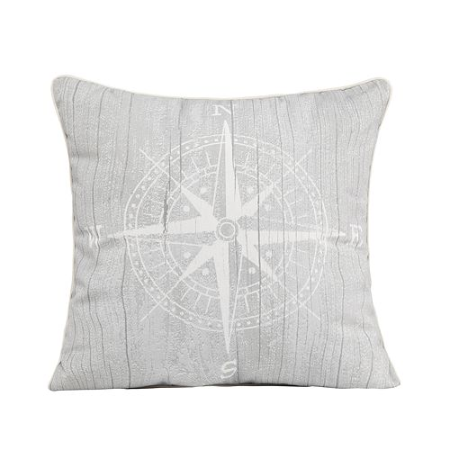 Spencer Home Compass Throw Pillow
