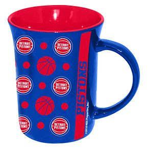 Detroit Pistons Line Up Coffee Mug