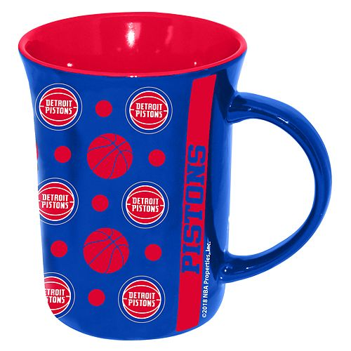 Detroit Pistons Line Up Coffee Mug