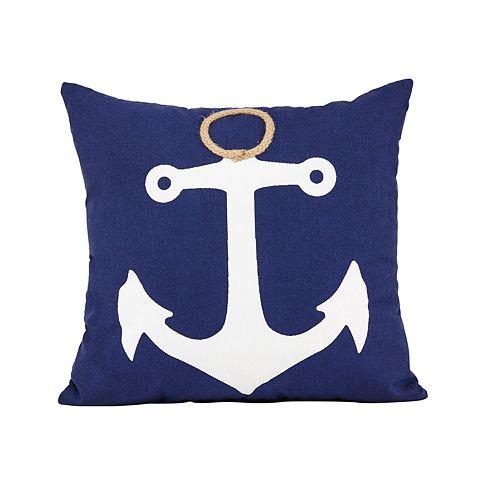 Spencer Home Anchor Throw Pillow
