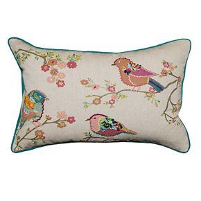 Spencer Home Penny Birds Throw Pillow