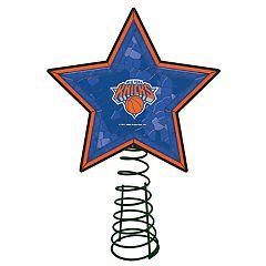 New York Knicks Mosaic Christmas Tree Topper