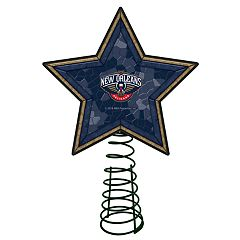 New Orleans Pelicans Mosaic Christmas Tree Topper