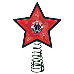 Washington Wizards Mosaic Christmas Tree Topper