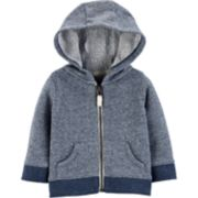 Baby Boy Carter's French Terry Hooded Cardigan